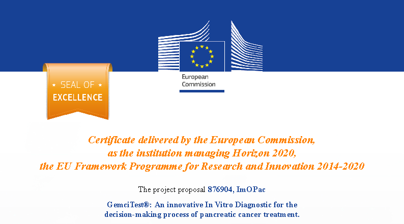 Acobiom has obtained a Seal of Excellence issued by the European Commission for the GemciTest