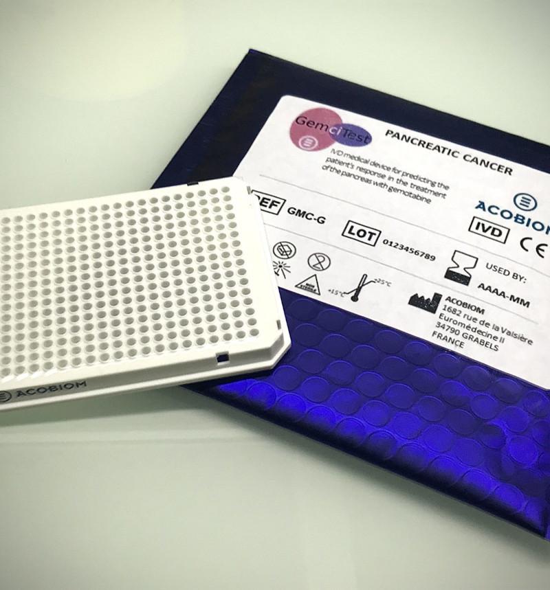 GemciTest - Dispositif médical de diagnostic in vitro pour la prédiction de la réponse du patient dans le traitement du pancréas à la gemcitabine
